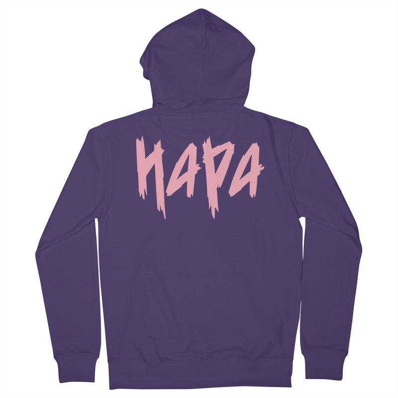 Hapa - Metal - Pastel Pink Women's Zip-Up Hoody by 6degreesofhapa's Artist Shop