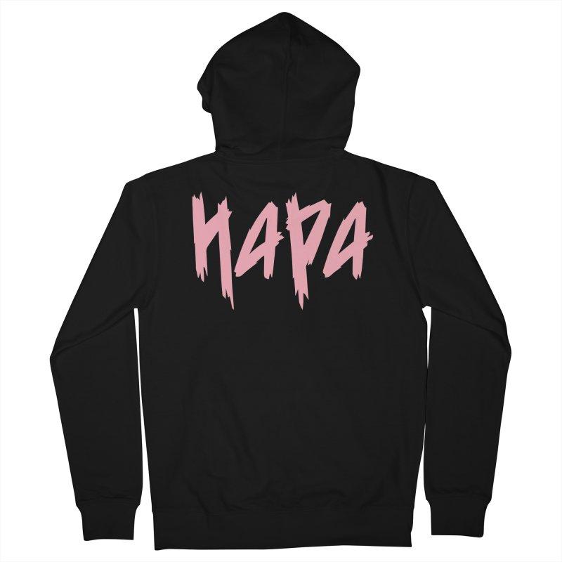 Hapa - Metal - Pastel Pink Men's Zip-Up Hoody by 6degreesofhapa's Artist Shop