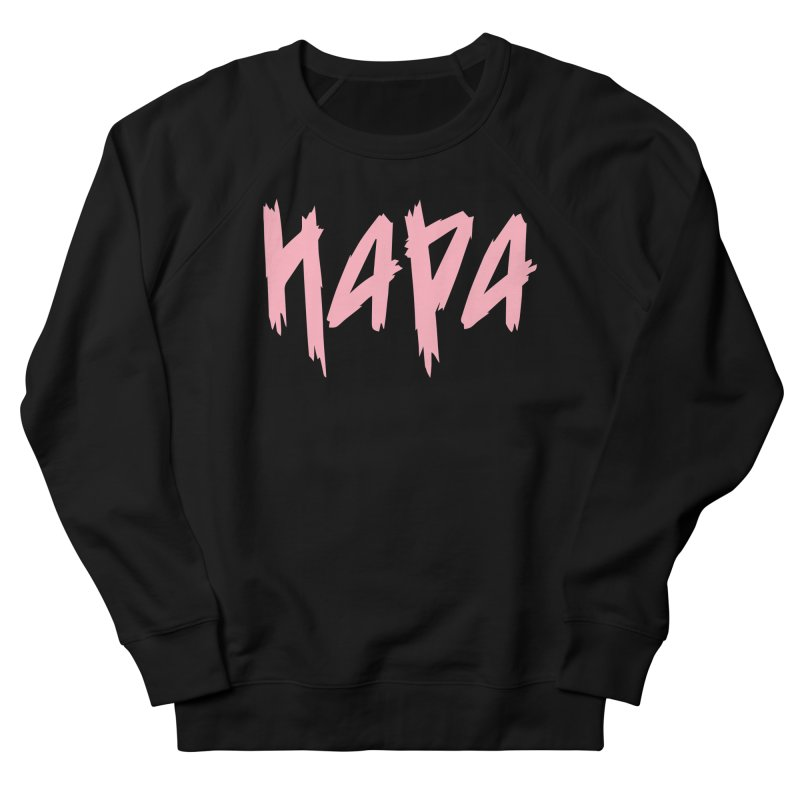 Hapa - Metal - Pastel Pink Women's Sweatshirt by 6degreesofhapa's Artist Shop