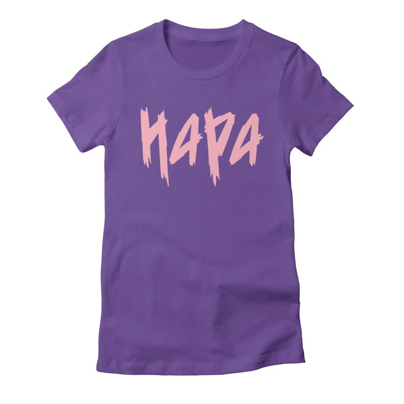Hapa - Metal - Pastel Pink Women's T-Shirt by 6degreesofhapa's Artist Shop