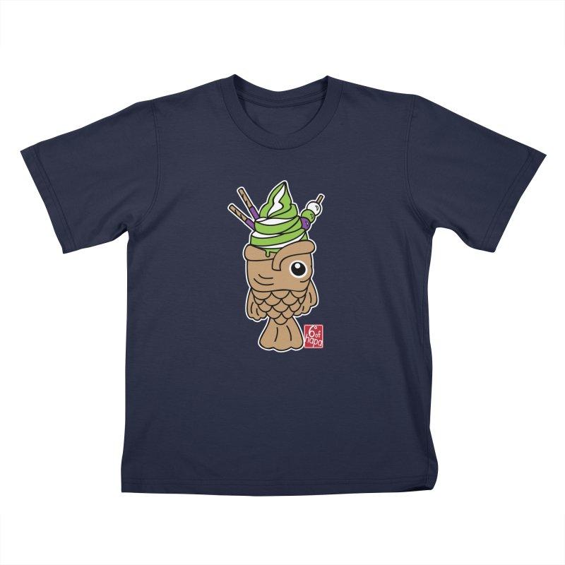 Taiyaki Kids T-Shirt by 6degreesofhapa's Artist Shop