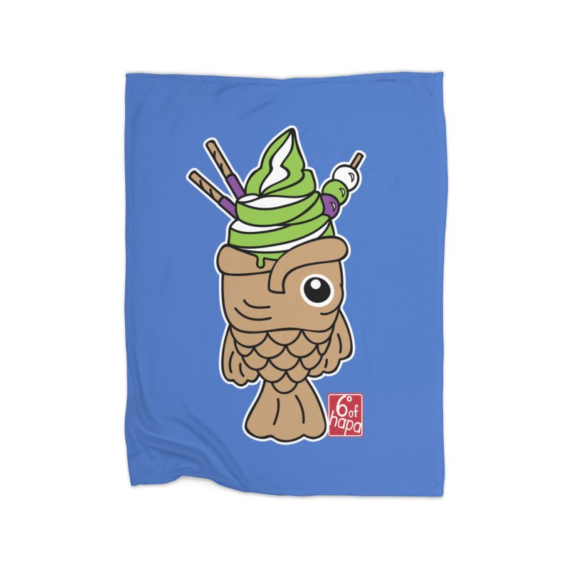 Taiyaki Home Blanket by 6degreesofhapa's Artist Shop