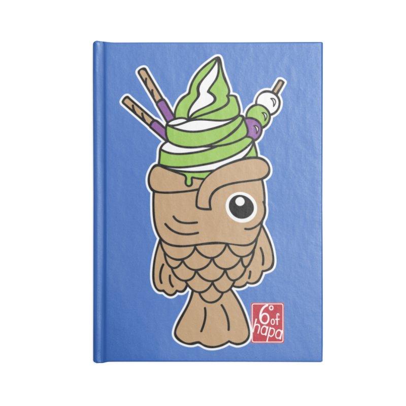 Taiyaki Accessories Notebook by 6degreesofhapa's Artist Shop