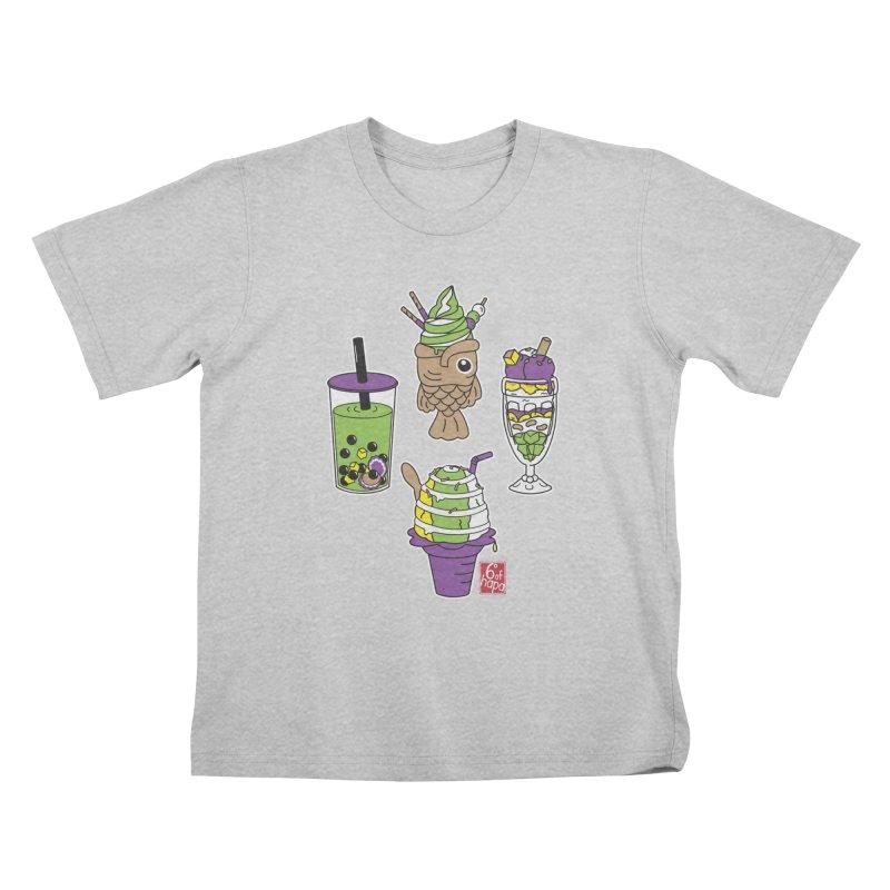 Desserts Kids T-Shirt by 6degreesofhapa's Artist Shop