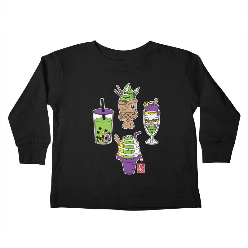 Desserts Kids Toddler Longsleeve T-Shirt by 6degreesofhapa's Artist Shop