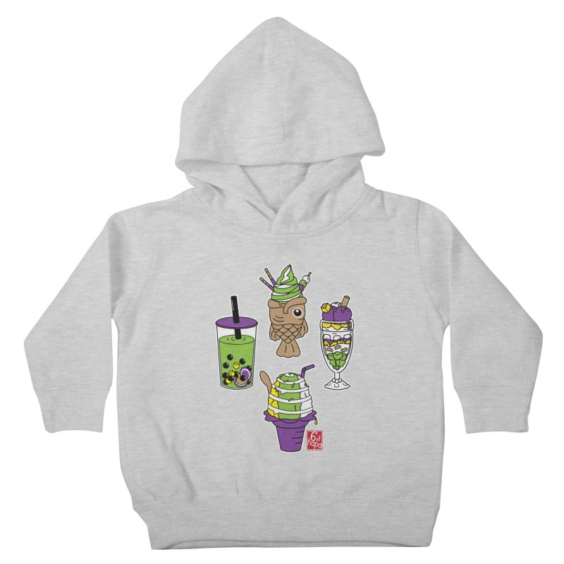 Desserts Kids Toddler Pullover Hoody by 6degreesofhapa's Artist Shop