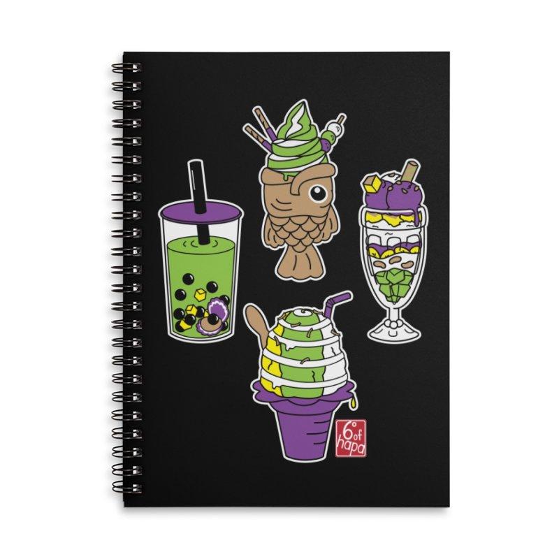 Desserts Accessories Notebook by 6degreesofhapa's Artist Shop