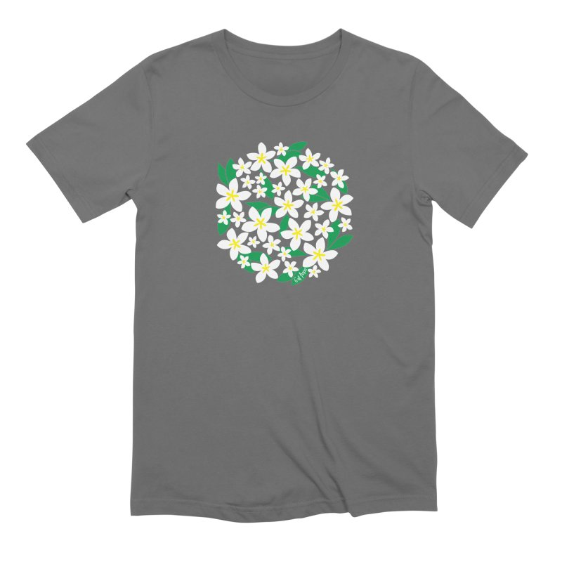 Plumeria in the Round Men's T-Shirt by 6degreesofhapa's Artist Shop