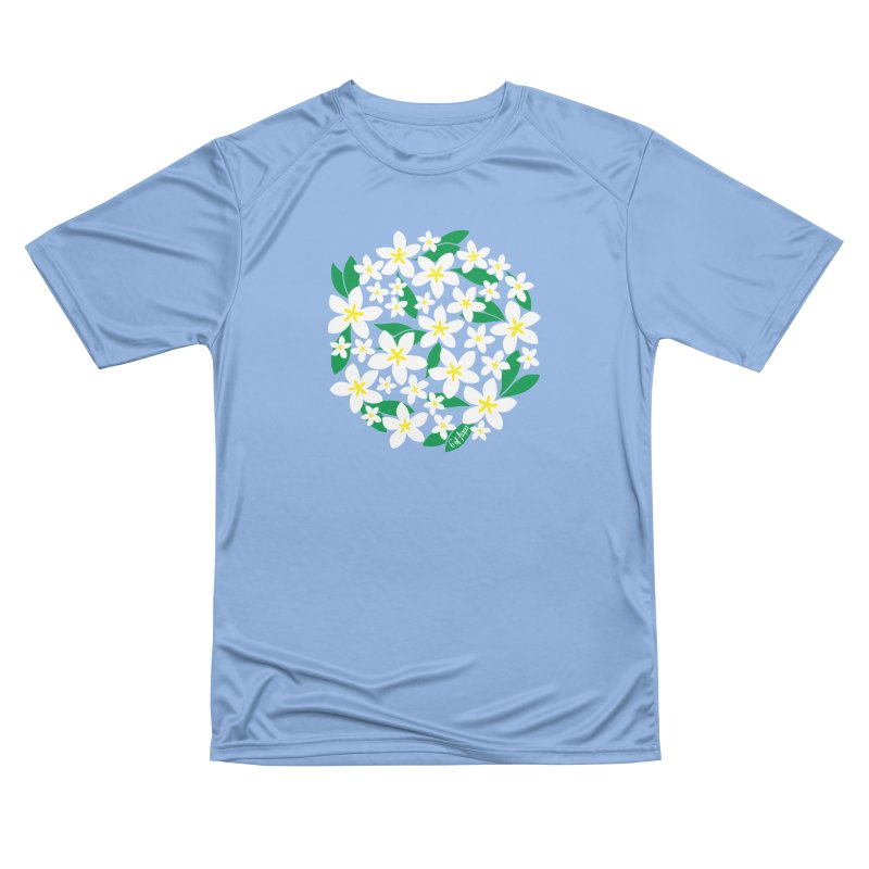Plumeria in the Round Women's T-Shirt by 6degreesofhapa's Artist Shop