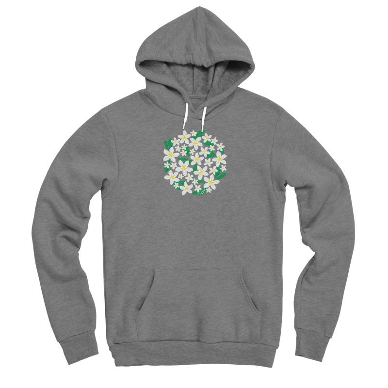 Plumeria in the Round Men's Pullover Hoody by 6degreesofhapa's Artist Shop