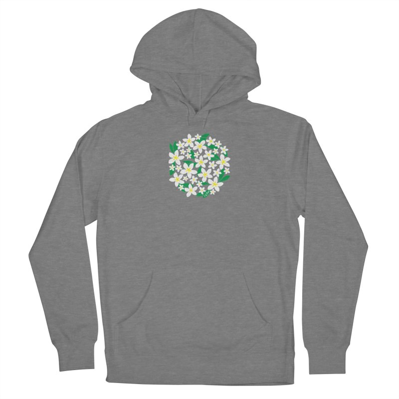 Plumeria in the Round Women's Pullover Hoody by 6degreesofhapa's Artist Shop