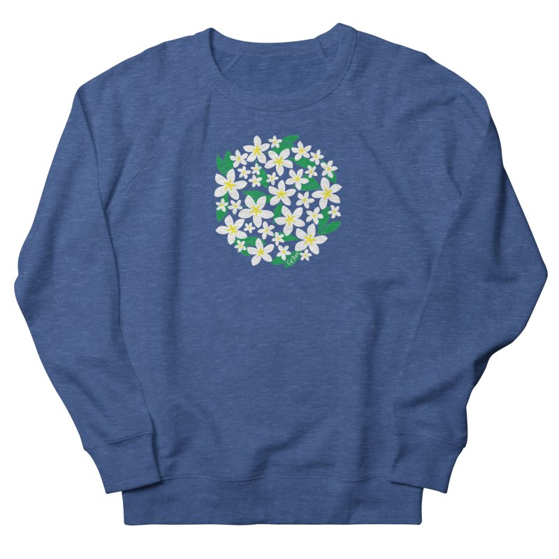 Plumeria in the Round Women's Sweatshirt by 6degreesofhapa's Artist Shop