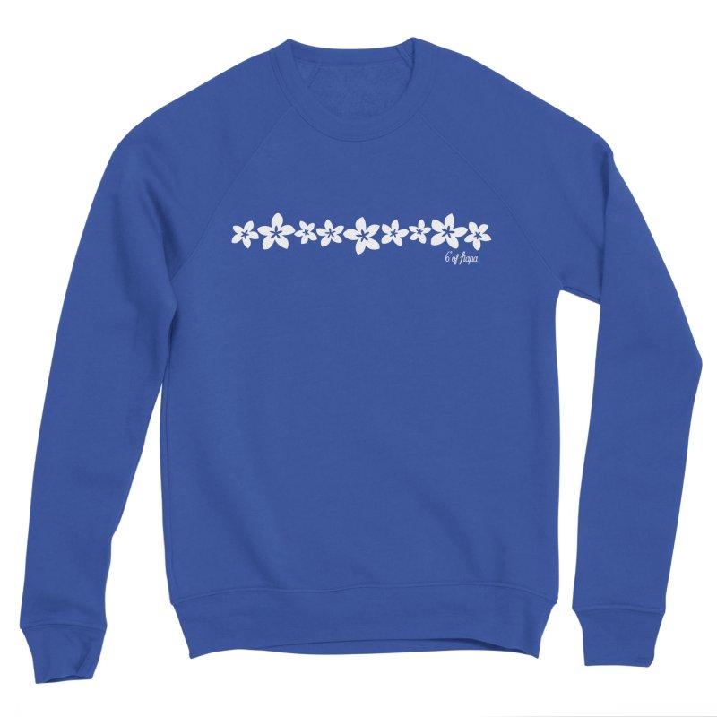 Plumeria Trail Men's Sweatshirt by 6degreesofhapa's Artist Shop