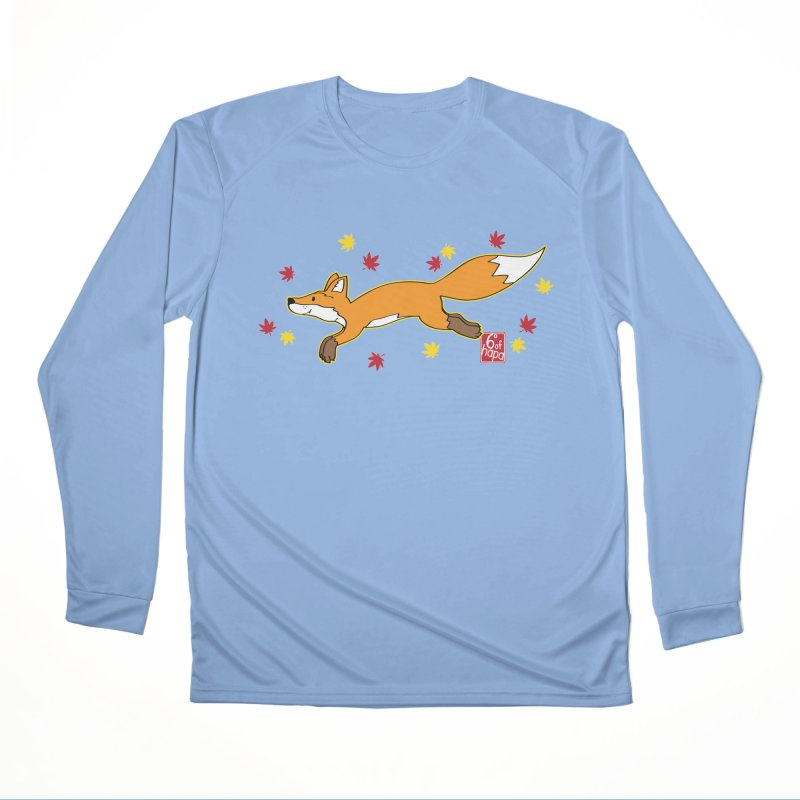 Leaping Fox Women's Longsleeve T-Shirt by 6degreesofhapa's Artist Shop