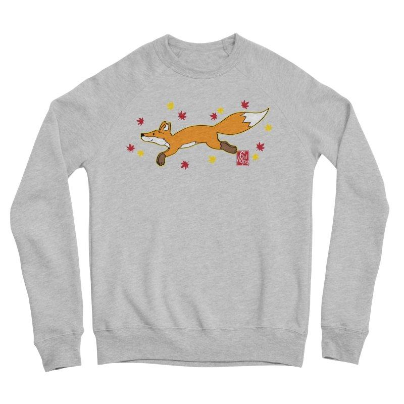 Leaping Fox Women's Sweatshirt by 6degreesofhapa's Artist Shop