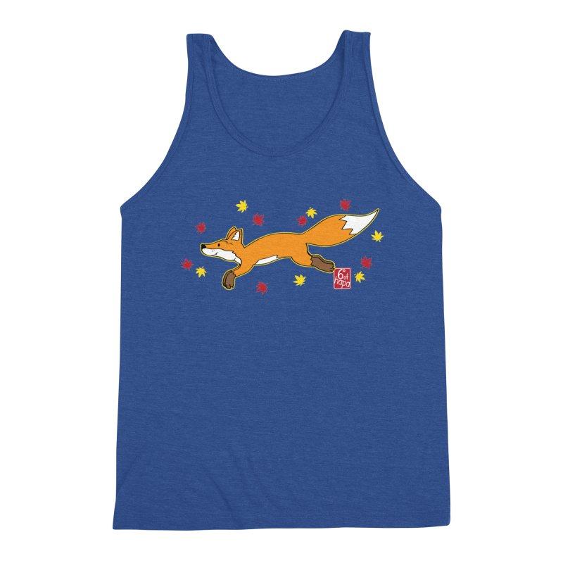 Leaping Fox Men's Tank by 6degreesofhapa's Artist Shop