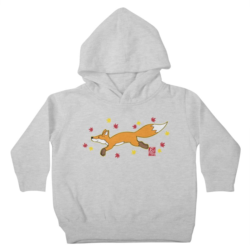 Leaping Fox Kids Toddler Pullover Hoody by 6degreesofhapa's Artist Shop