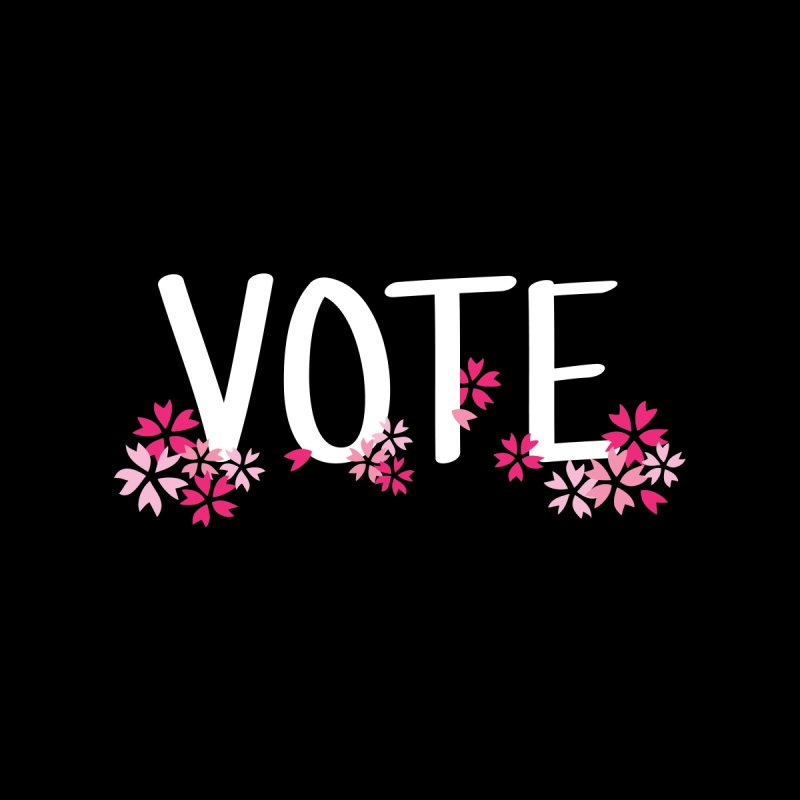VOTE - Sakura Women's Sweatshirt by 6degreesofhapa's Artist Shop