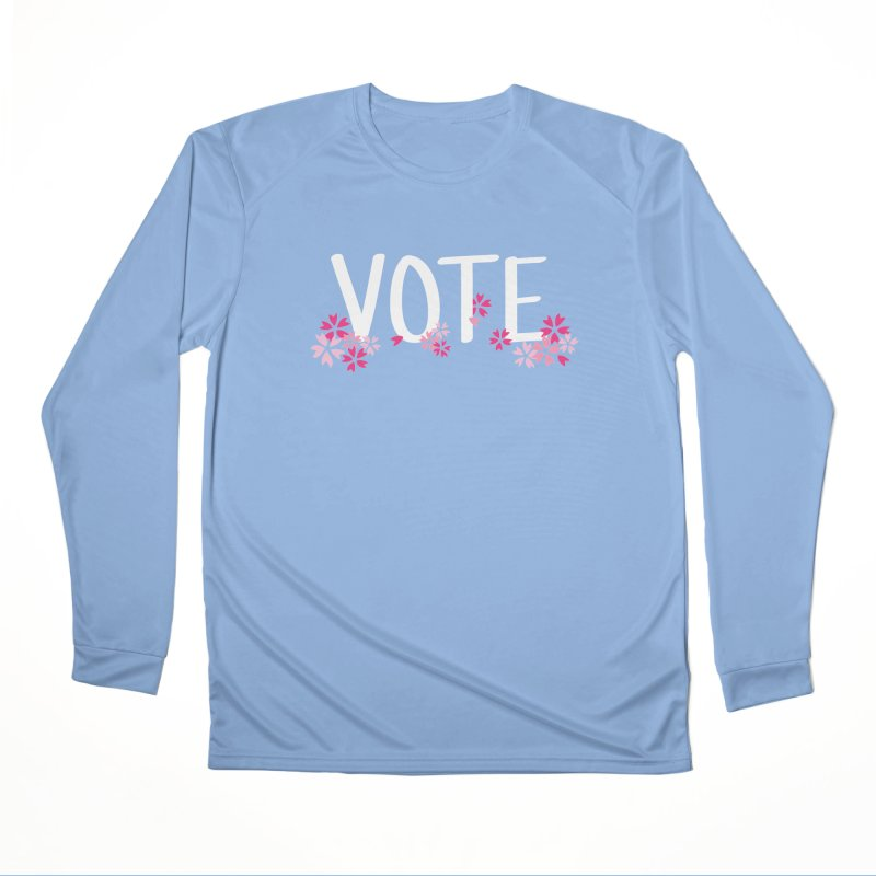 VOTE - Sakura Men's Longsleeve T-Shirt by 6degreesofhapa's Artist Shop