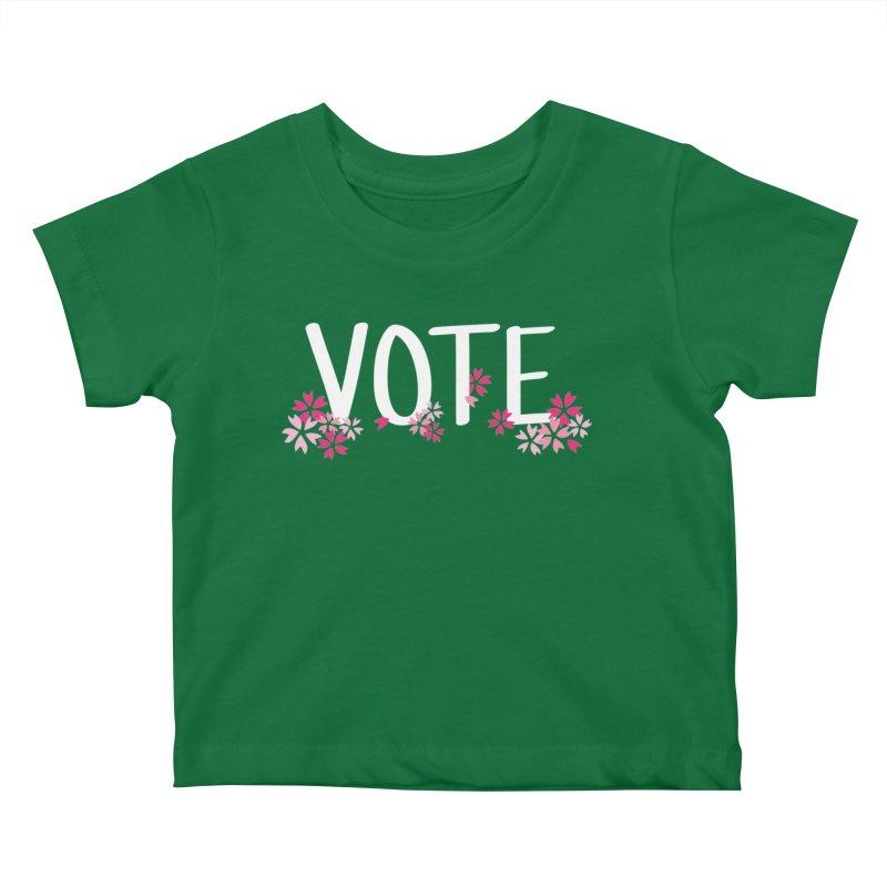 VOTE - Sakura Kids Baby T-Shirt by 6degreesofhapa's Artist Shop