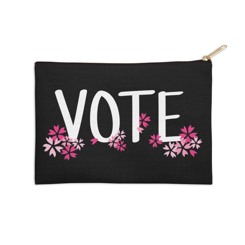 VOTE - Sakura Accessories Zip Pouch by 6degreesofhapa's Artist Shop