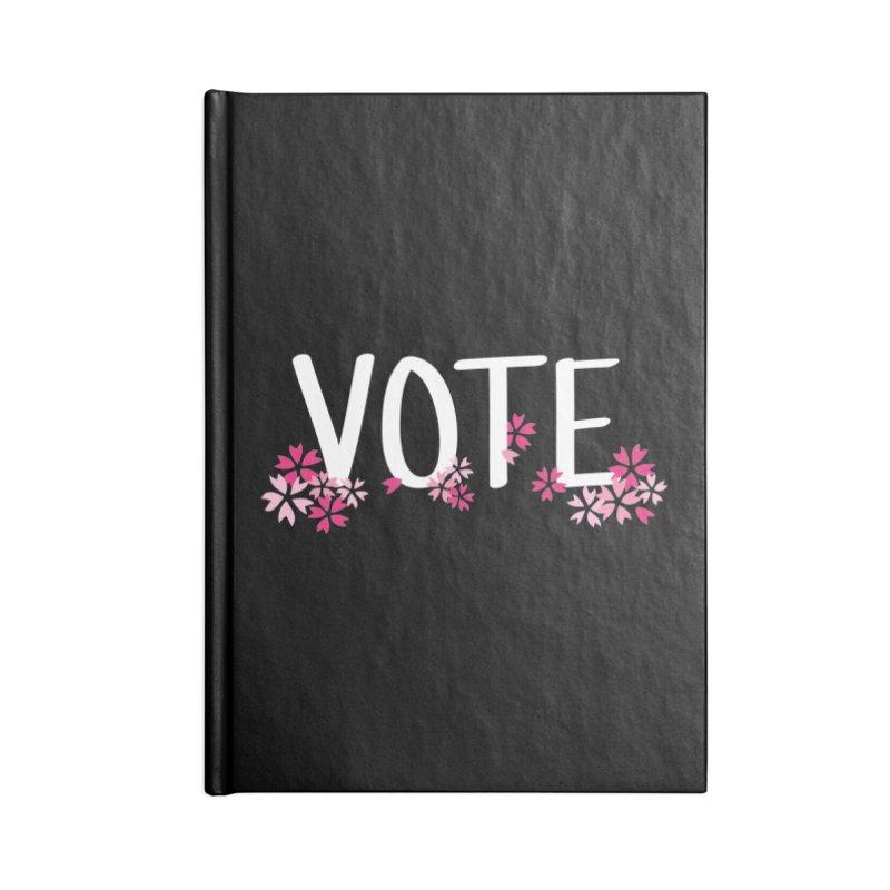 VOTE - Sakura Accessories Notebook by 6degreesofhapa's Artist Shop
