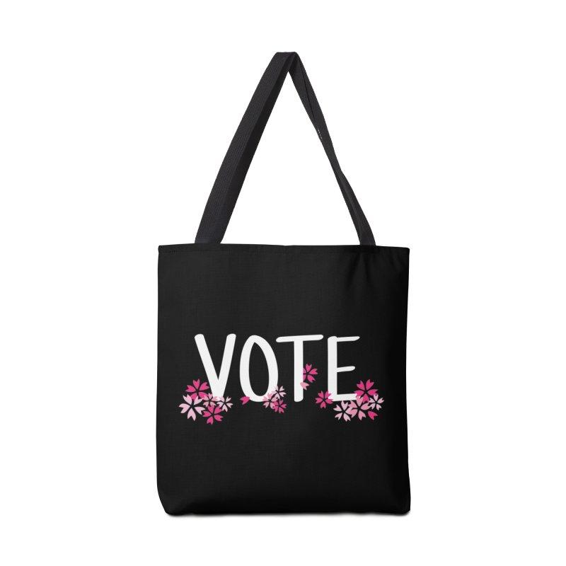 VOTE - Sakura Accessories Bag by 6degreesofhapa's Artist Shop