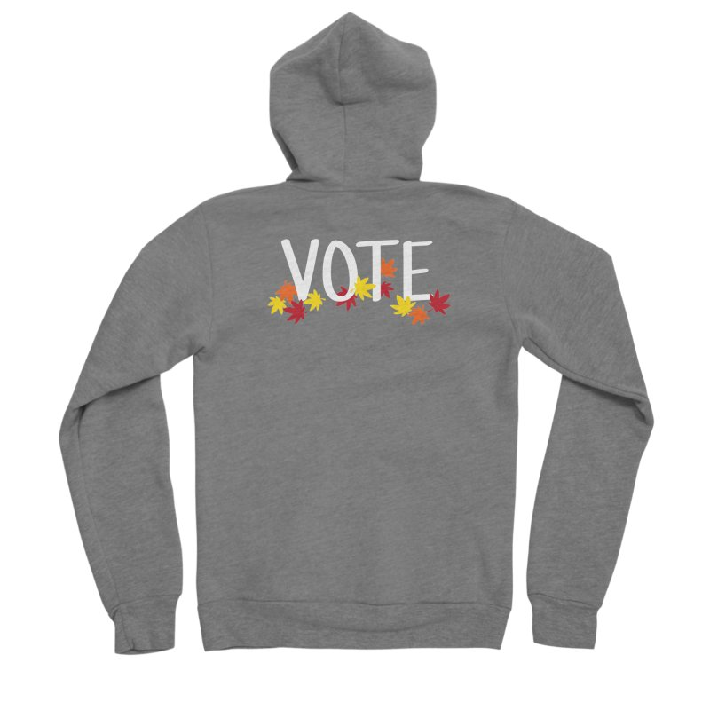 VOTE - Momiji Women's Zip-Up Hoody by 6degreesofhapa's Artist Shop