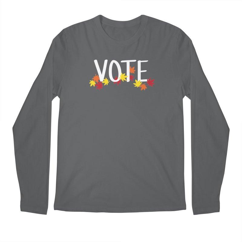 VOTE - Momiji Men's Longsleeve T-Shirt by 6degreesofhapa's Artist Shop