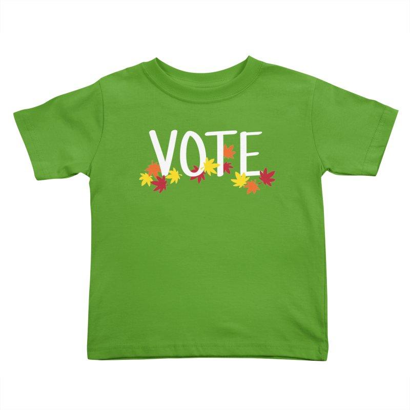 VOTE - Momiji Kids Toddler T-Shirt by 6degreesofhapa's Artist Shop