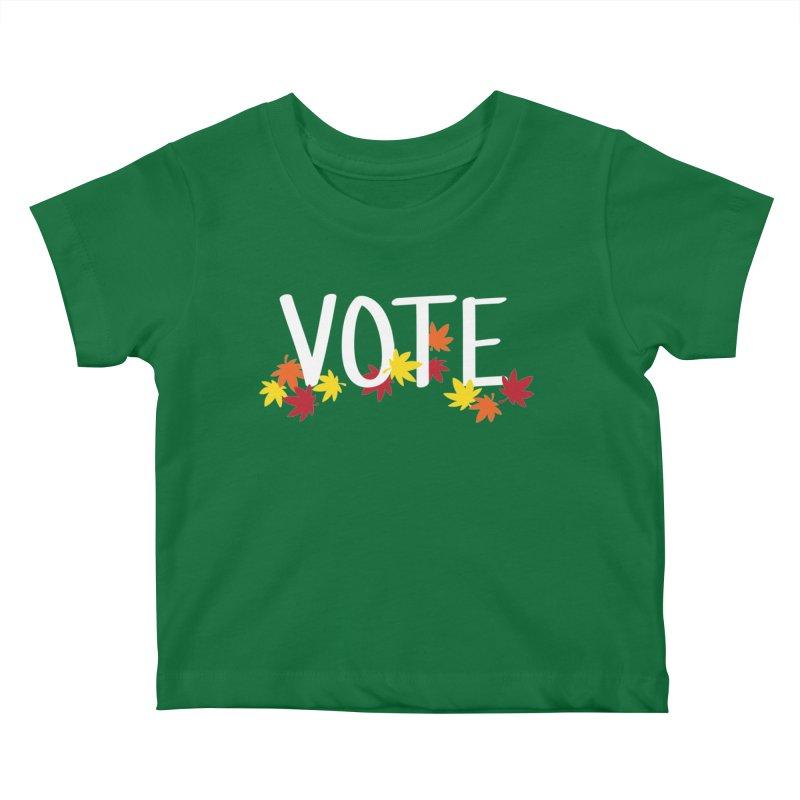 VOTE - Momiji Kids Baby T-Shirt by 6degreesofhapa's Artist Shop