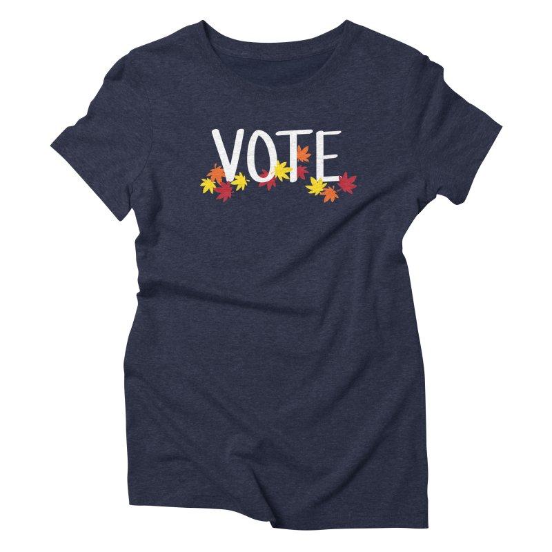 VOTE - Momiji Women's T-Shirt by 6degreesofhapa's Artist Shop
