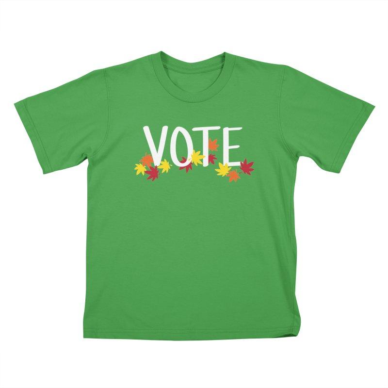VOTE - Momiji Kids T-Shirt by 6degreesofhapa's Artist Shop
