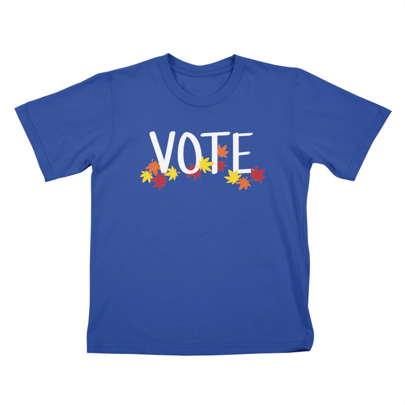 VOTE - Momiji Kids T-Shirt by 6degreesofhapa's Artist Shop