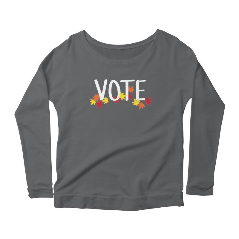 VOTE - Momiji Women's Longsleeve T-Shirt by 6degreesofhapa's Artist Shop