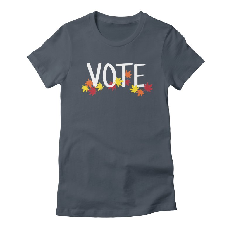 VOTE - Momiji Women's T-Shirt by 6degreesofhapa's Artist Shop