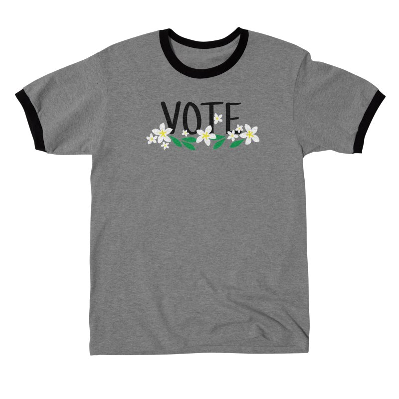 VOTE - Plumerias Women's T-Shirt by 6degreesofhapa's Artist Shop