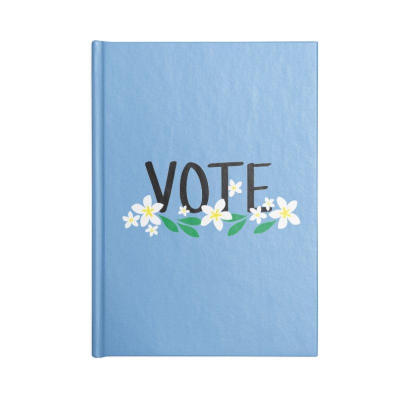 VOTE - Plumerias Accessories Notebook by 6degreesofhapa's Artist Shop