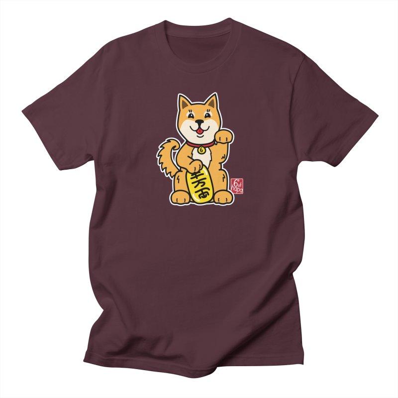 Maneki Inu - Aka Men's T-Shirt by 6degreesofhapa's Artist Shop