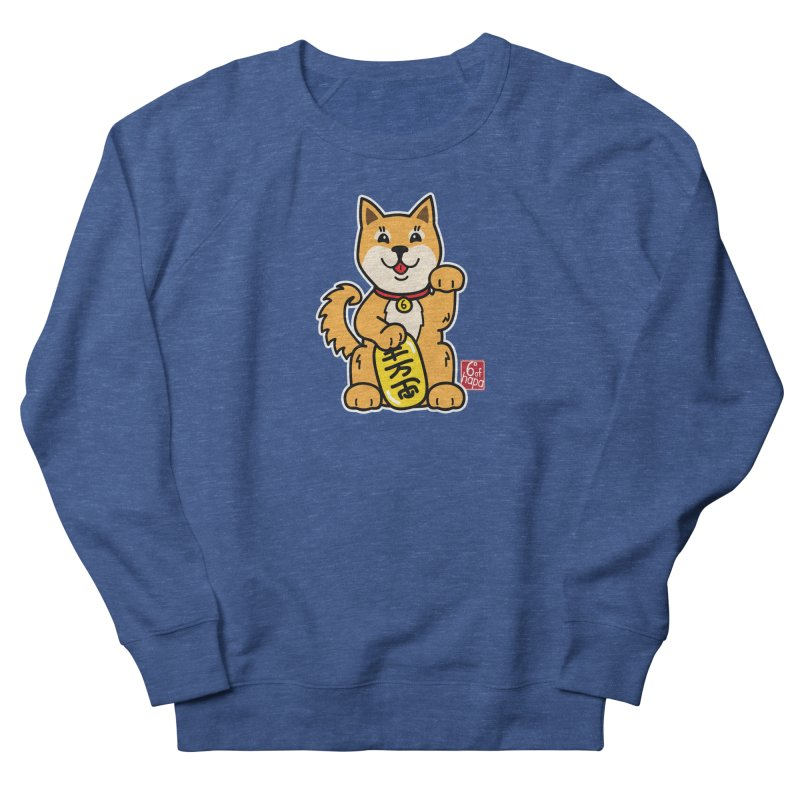 Maneki Inu - Aka Men's Sweatshirt by 6degreesofhapa's Artist Shop