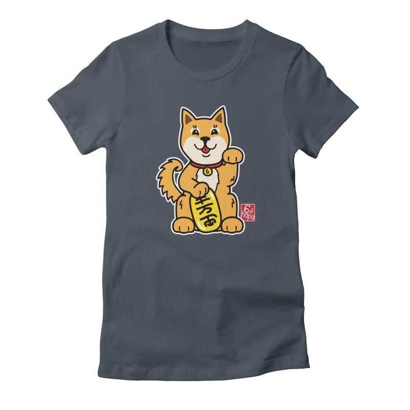 Maneki Inu - Aka Women's T-Shirt by 6degreesofhapa's Artist Shop