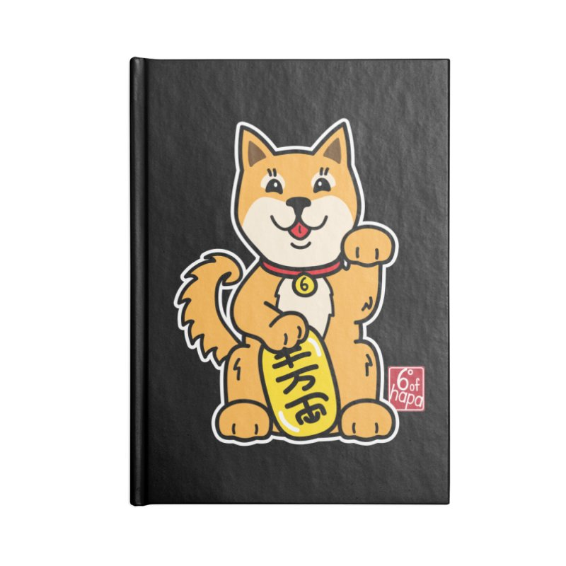 Maneki Inu - Aka Accessories Notebook by 6degreesofhapa's Artist Shop