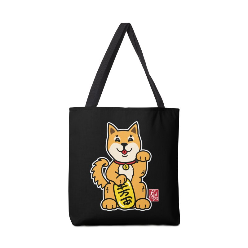 Maneki Inu - Aka Accessories Bag by 6degreesofhapa's Artist Shop