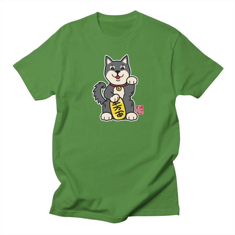 Maneki Inu - Kuro Men's T-Shirt by 6degreesofhapa's Artist Shop