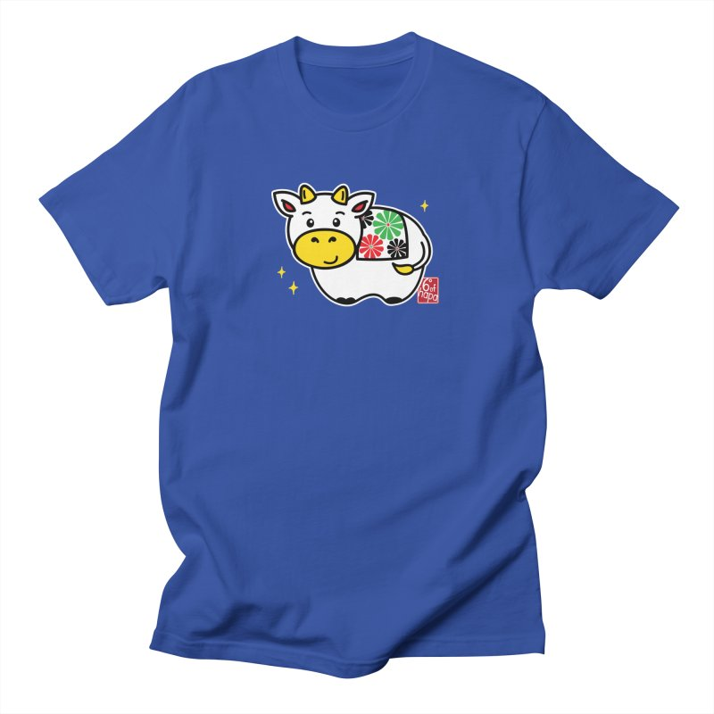 Year of the Ox - Shiro Men's T-Shirt by 6degreesofhapa's Artist Shop