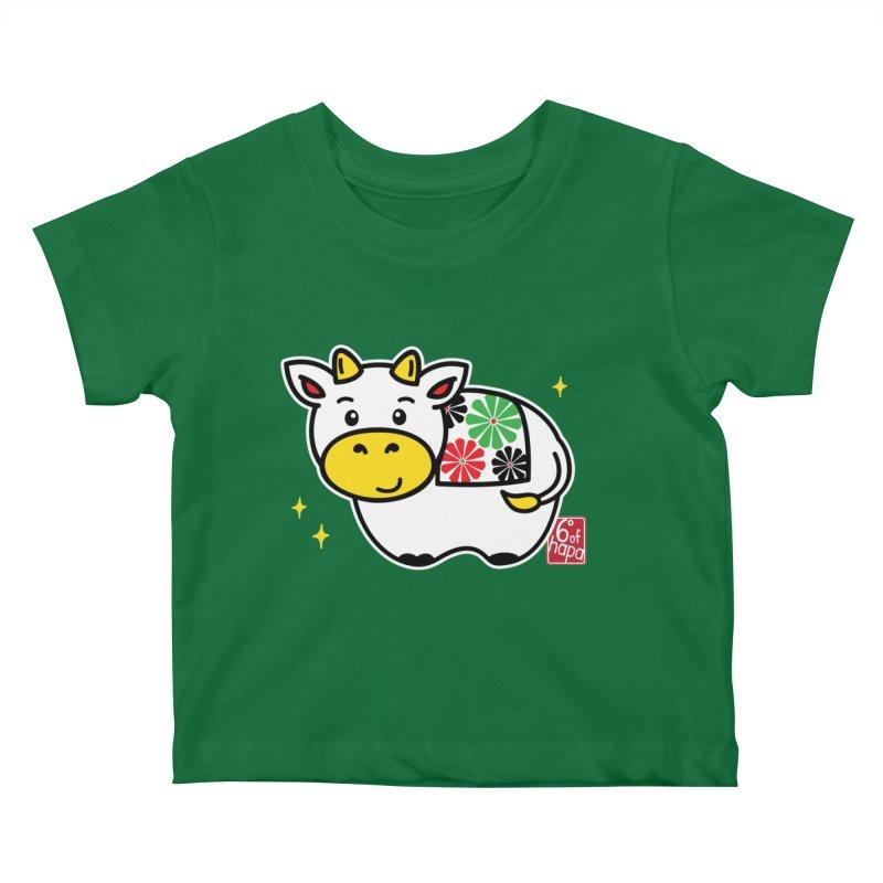 Year of the Ox - Shiro Kids Baby T-Shirt by 6degreesofhapa's Artist Shop