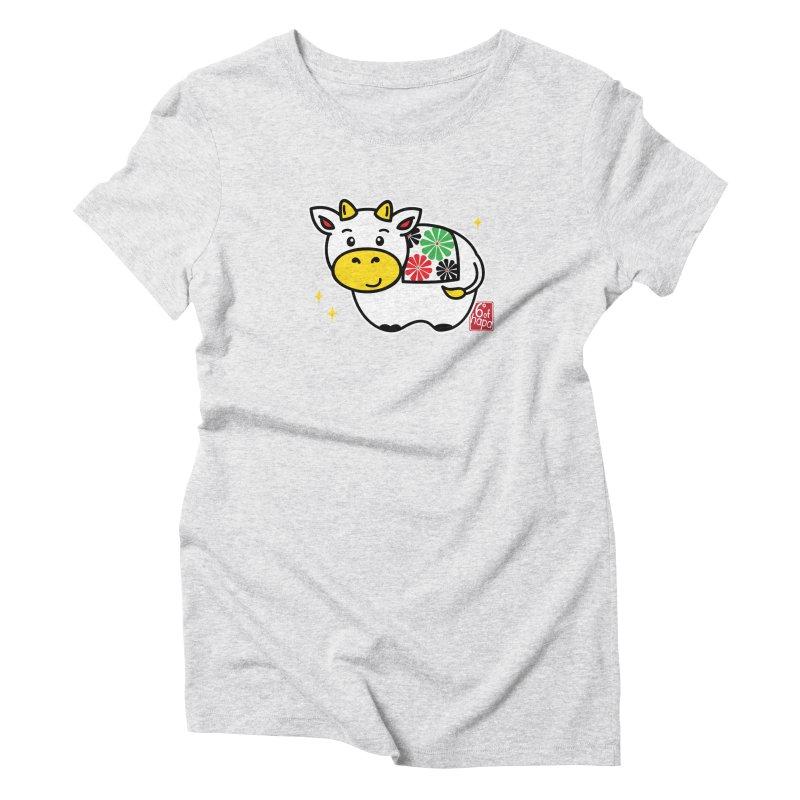 Year of the Ox - Shiro Women's T-Shirt by 6degreesofhapa's Artist Shop