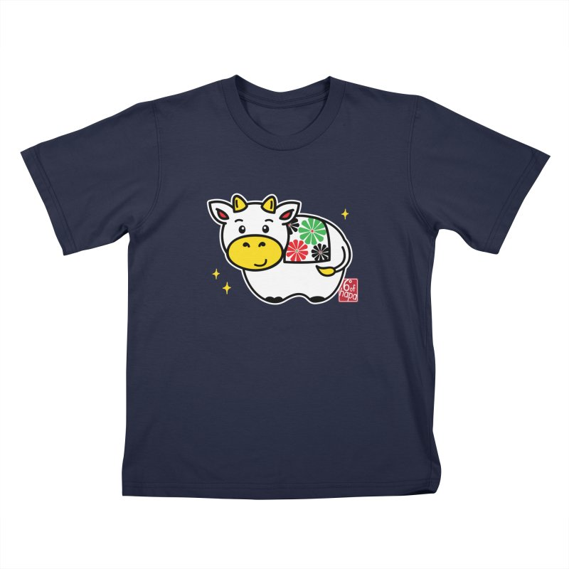 Year of the Ox - Shiro Kids T-Shirt by 6degreesofhapa's Artist Shop