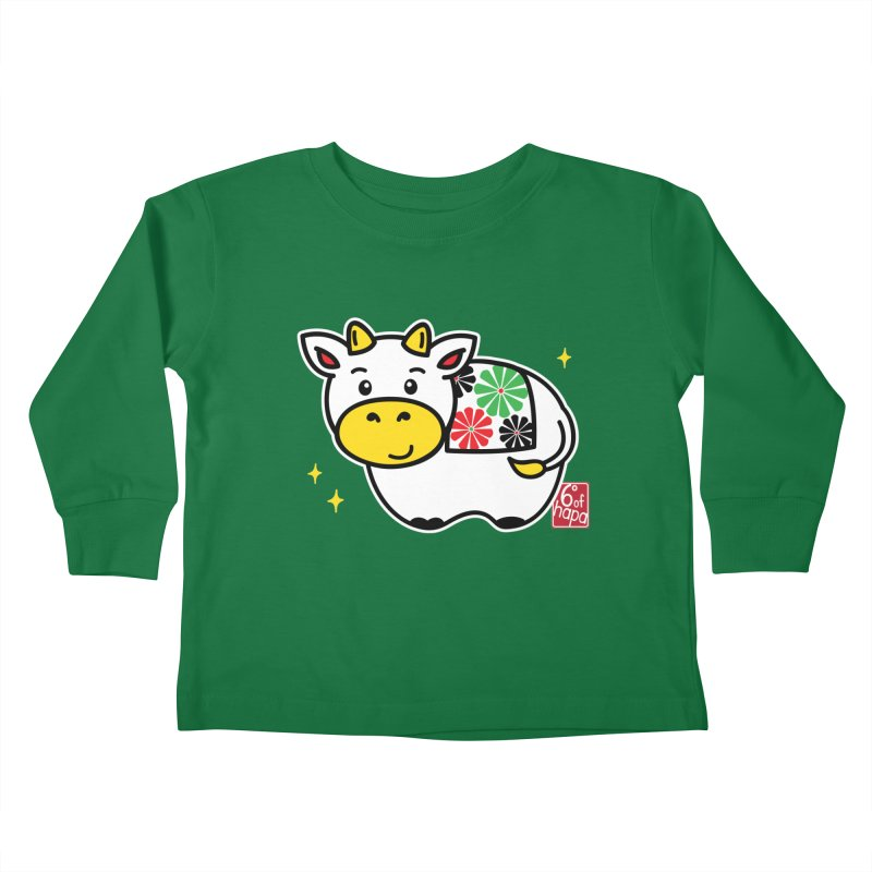 Year of the Ox - Shiro Kids Toddler Longsleeve T-Shirt by 6degreesofhapa's Artist Shop