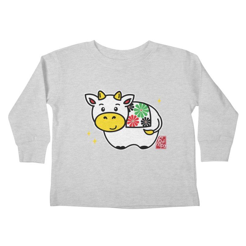 Year of the Ox - Shiro Kids Toddler Longsleeve T-Shirt by 6degreesofhapa's Artist Shop